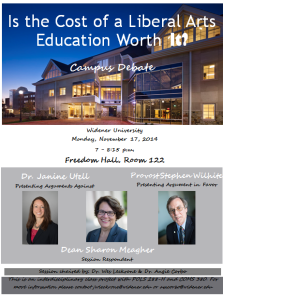 Liberal Arts Education Flyer