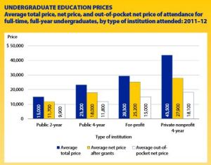 Chart - Undergraduate Education Prices